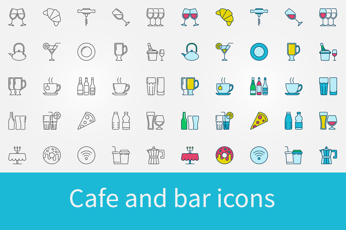 Cafe-and-bar-icons