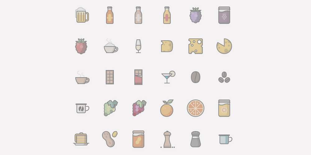 Food-and-Drinks-Icons