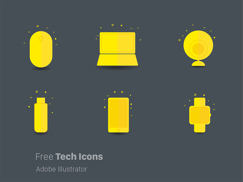 Free-Funky-Tech-Icons
