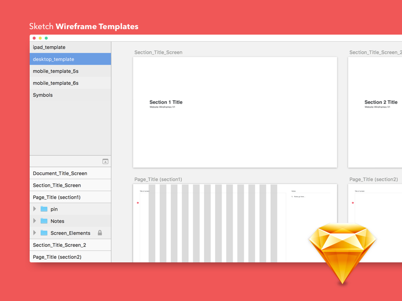 Free-Sketch-Wireframe-Templates