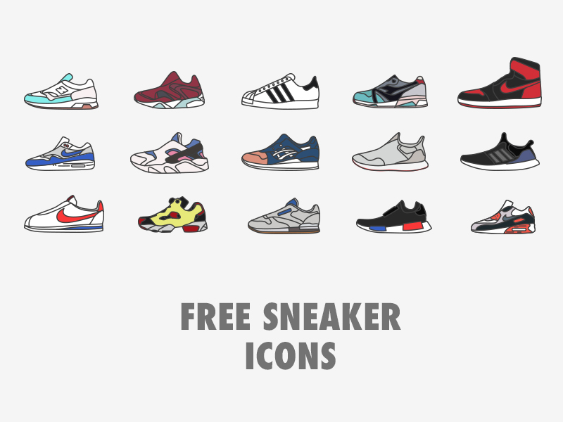 Free-Sneaker-Icons
