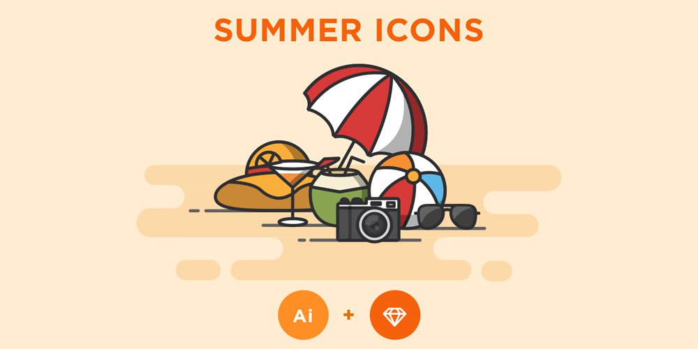 Free-Summer-Icons-1