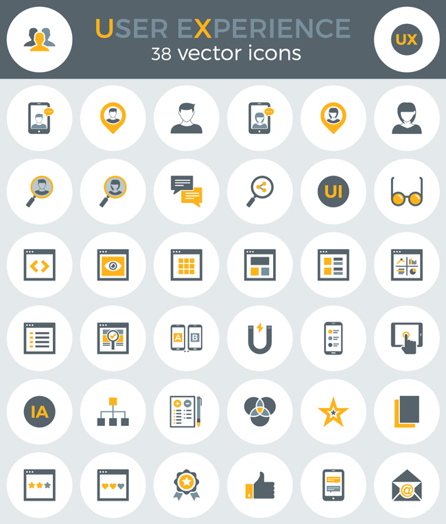 Free-User-Experince-Icons