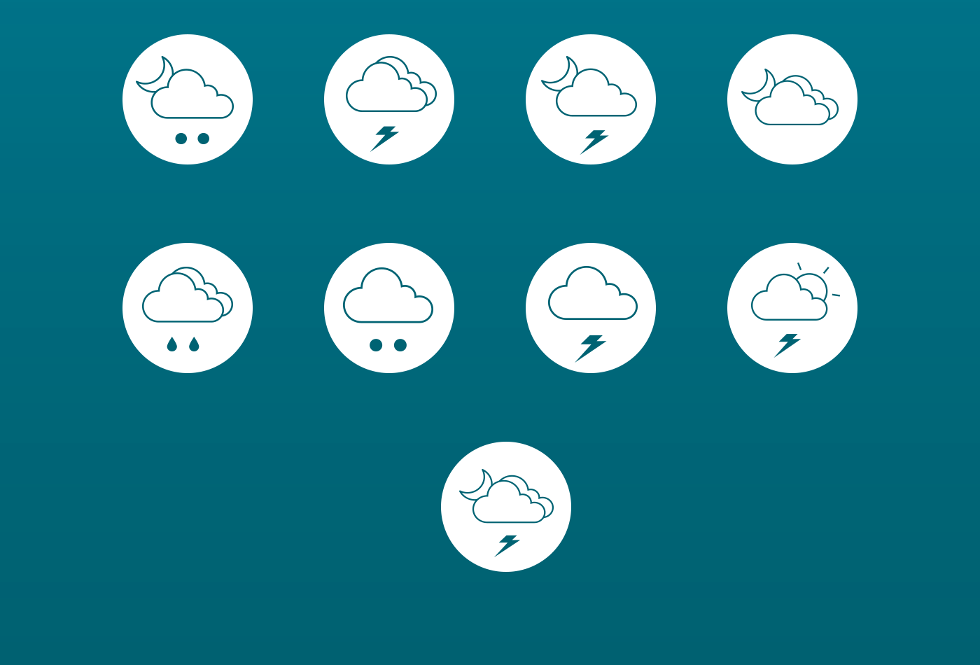 Free-Weather-Line-Icons