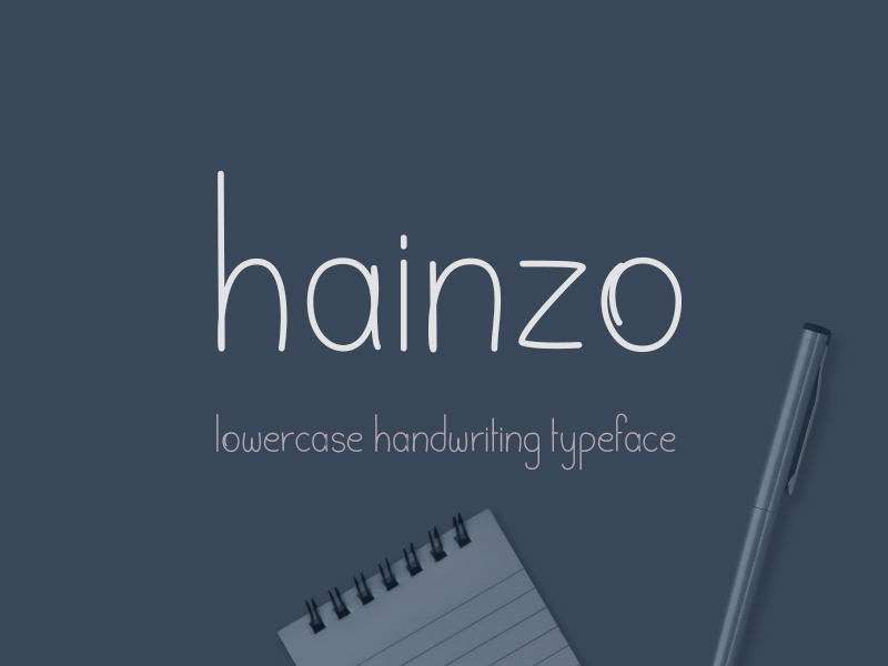 Hainzo-Handwriting-Font