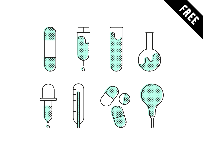 Pharmacy-Icon-set