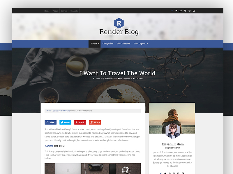 RenderBlog-Free-responsive-WordPress-blog-theme