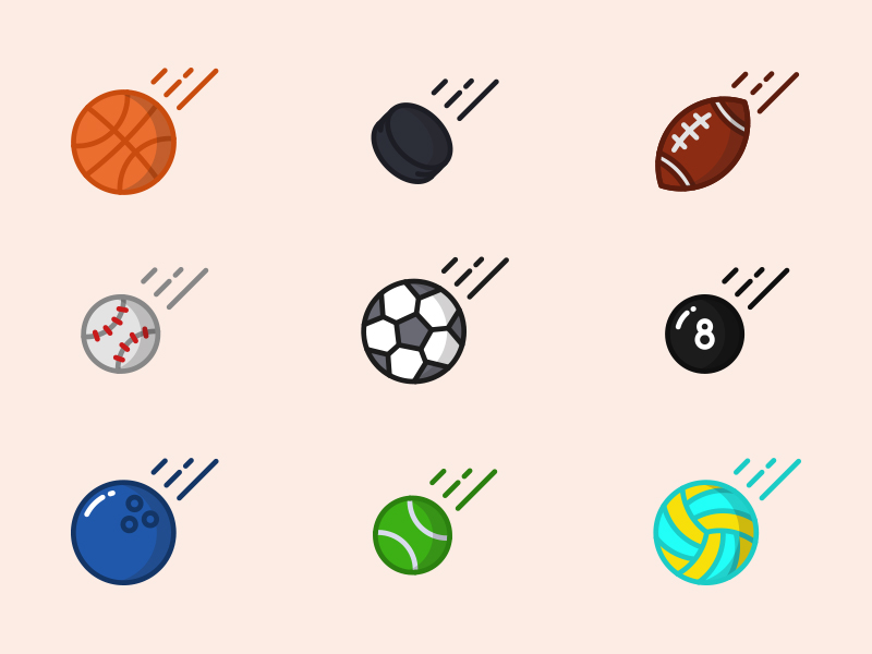 Sporty-Balls-free-icon-set