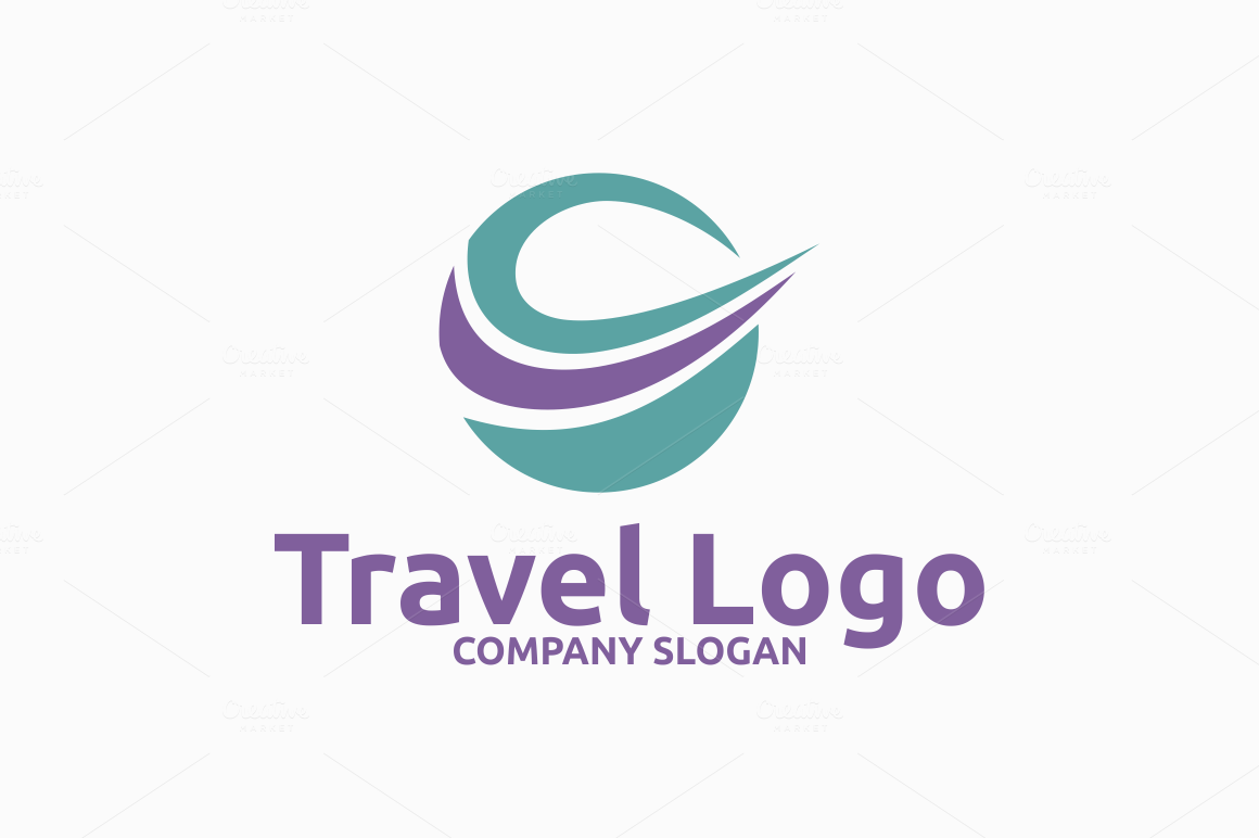 Bon Voyage! Travel Logo Templates Collection - Designazure.com
