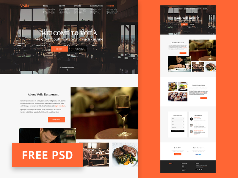 Voila-Restaurant-web-design-template