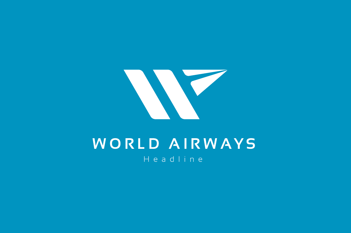 World-airways-logo-template