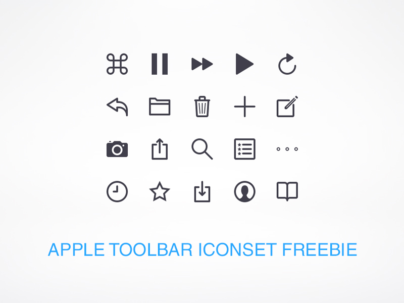 apple-toolbar-icons