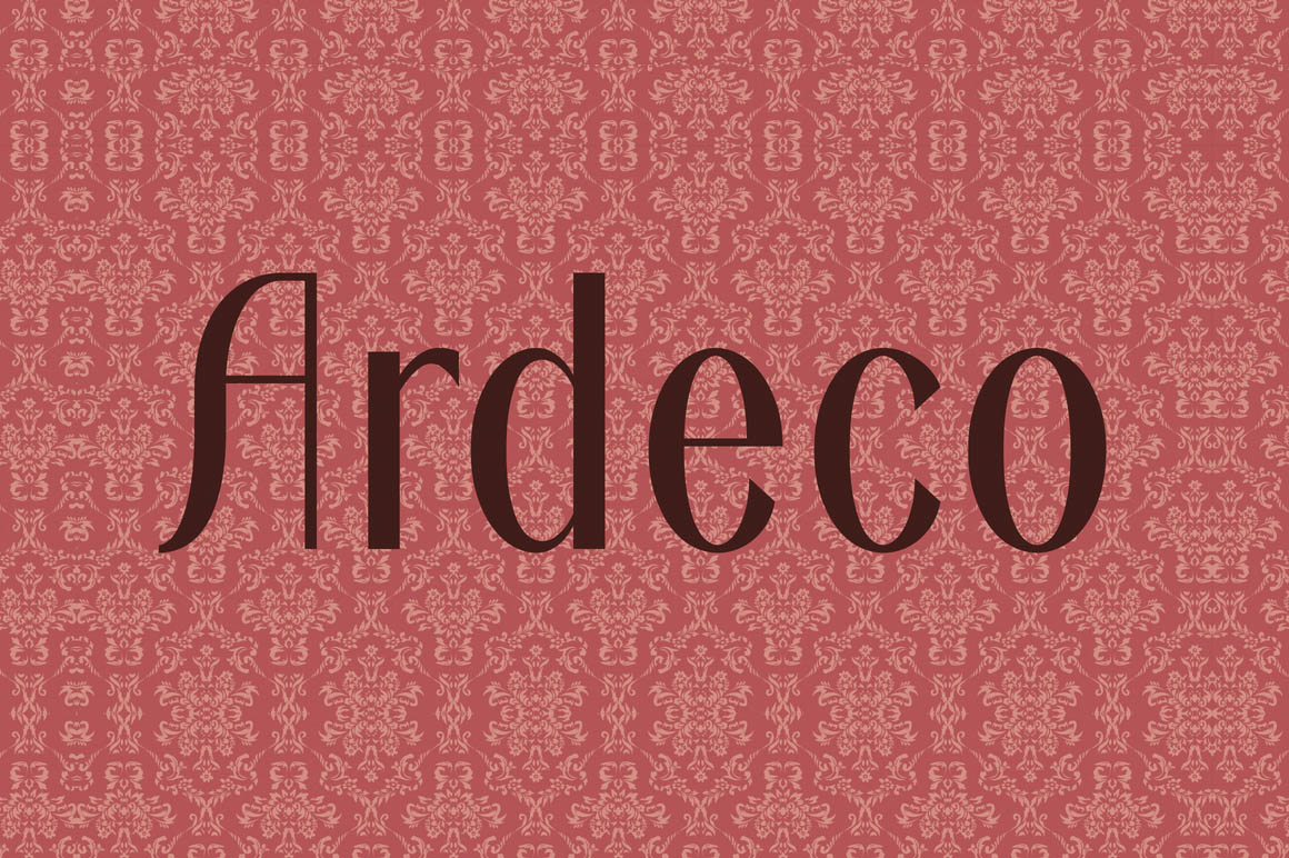 ardeco-free-font