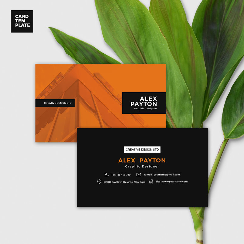 duotone-business-card-design-template-2