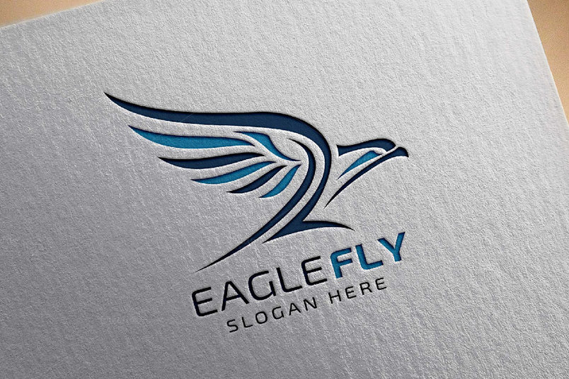 eagle-fly-v2-logo-template-2