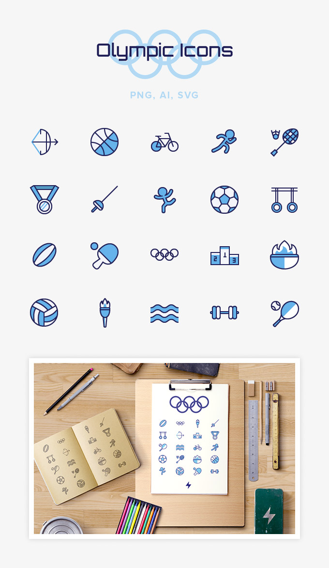 free-olympic-sport-icons