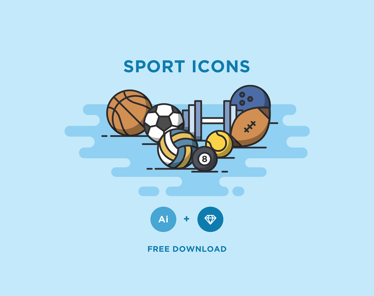 free-sport-icons