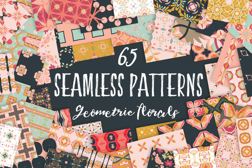 geometric-florals-seamless-patterns-2