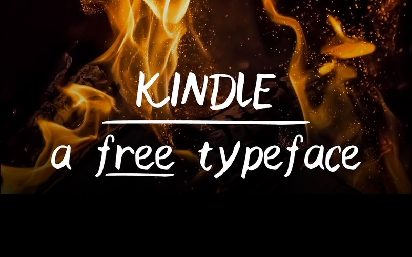 kindle-a-free-handwritten-typeface-2