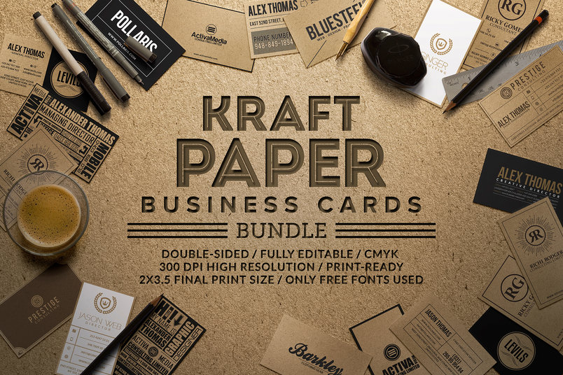 kraft-paper-business-cards-bundle-2