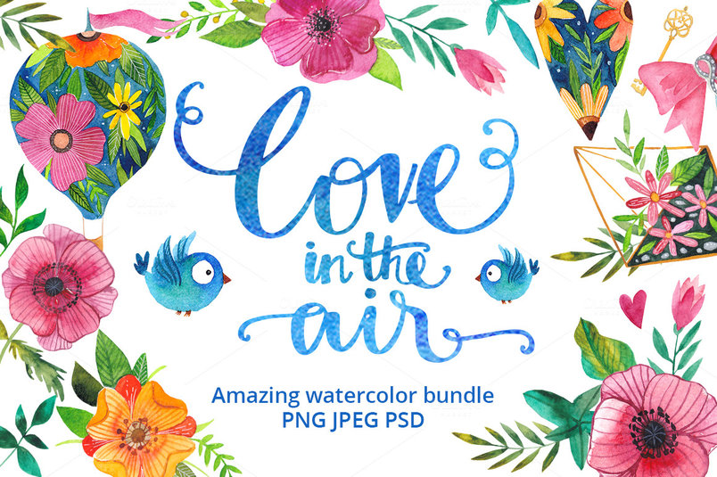 love-in-the-air-watercolor-bundle-2