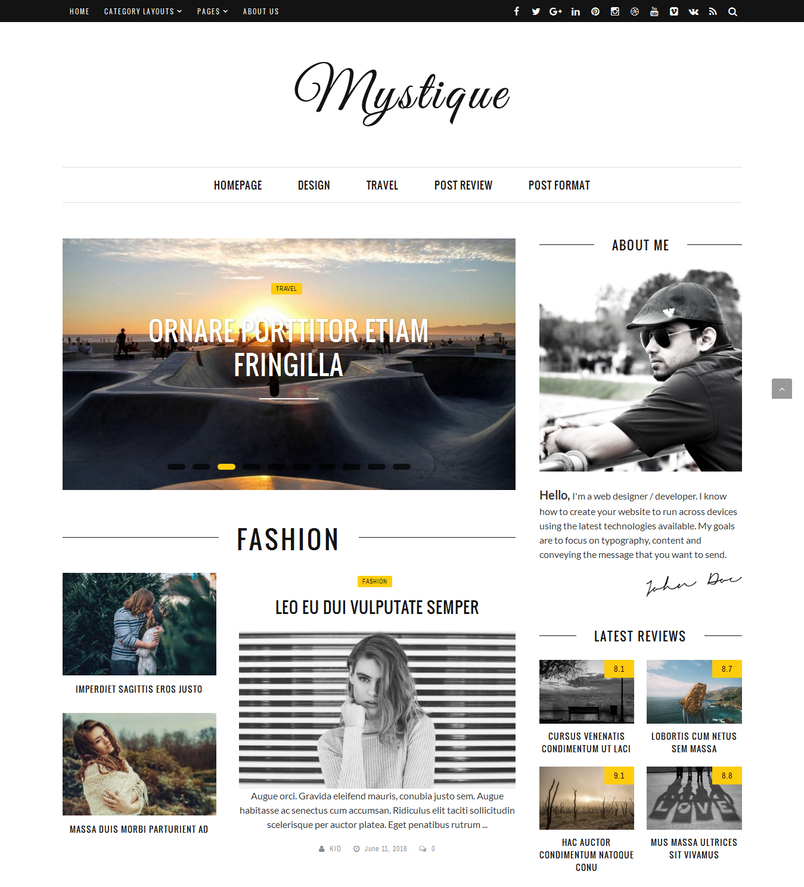 mystique-fast-clean-flexible-wordpress-magazine-news-blog-theme-2