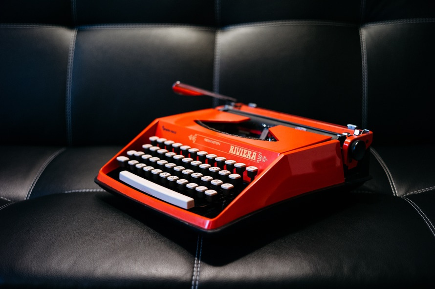 orange-typewriter