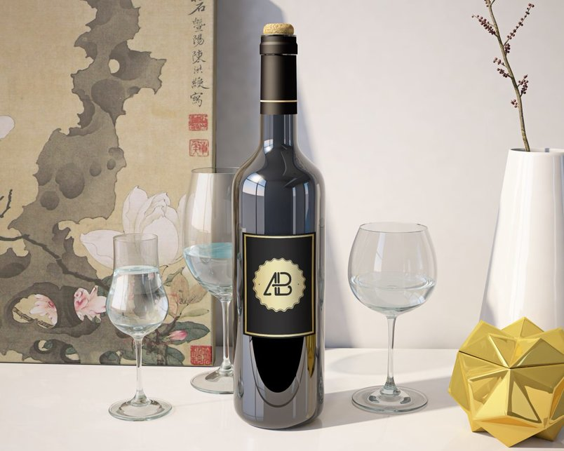 realistic-wine-bottle-mockup-2