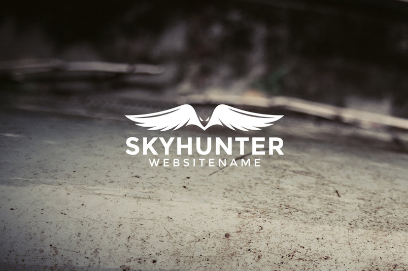 skyhunter-logo-template-2