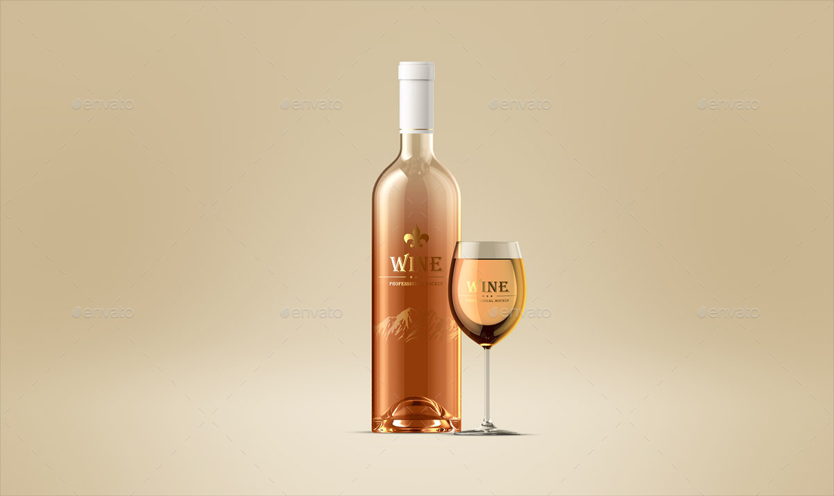 wine-bottle-and-glass-mockup