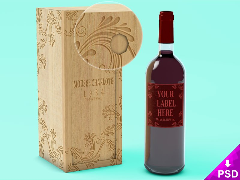 wine-bottle-with-wooden-case-2