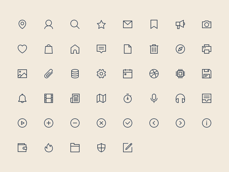 48-linear-icons