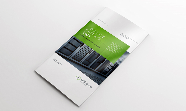 4xdl-double-gate-fold-brochure-mockup
