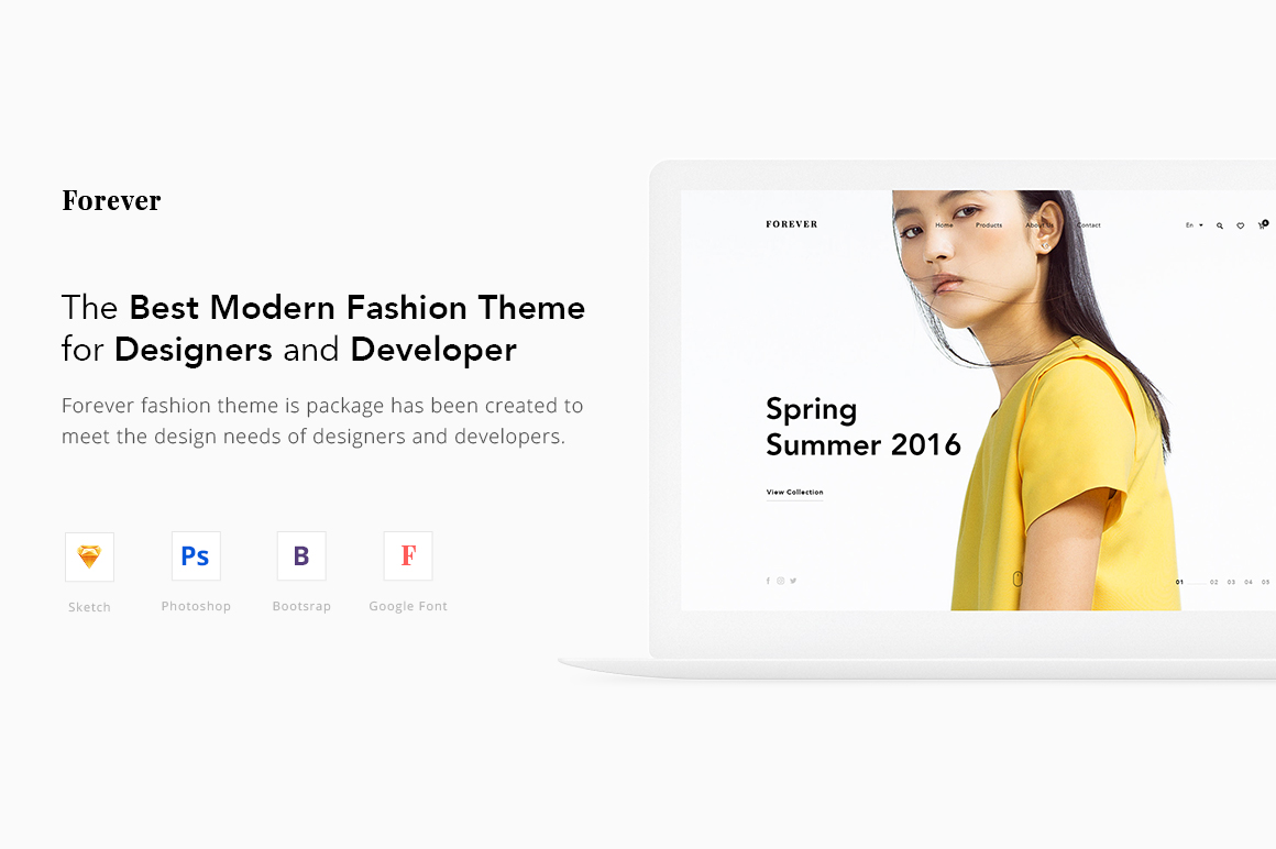 Forever-Best-Modern-Fashion-Theme