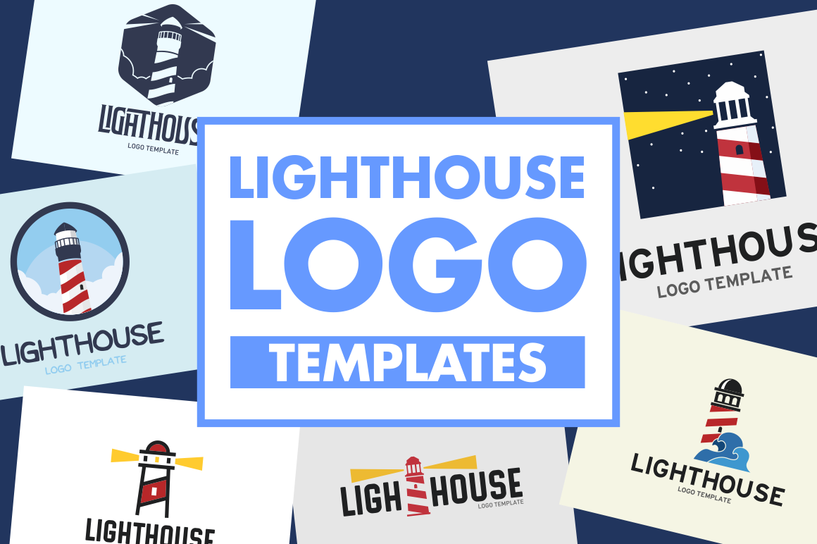 lighthouse-logo-templates