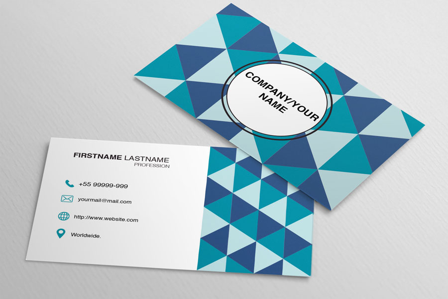 Polygon-Business-Card