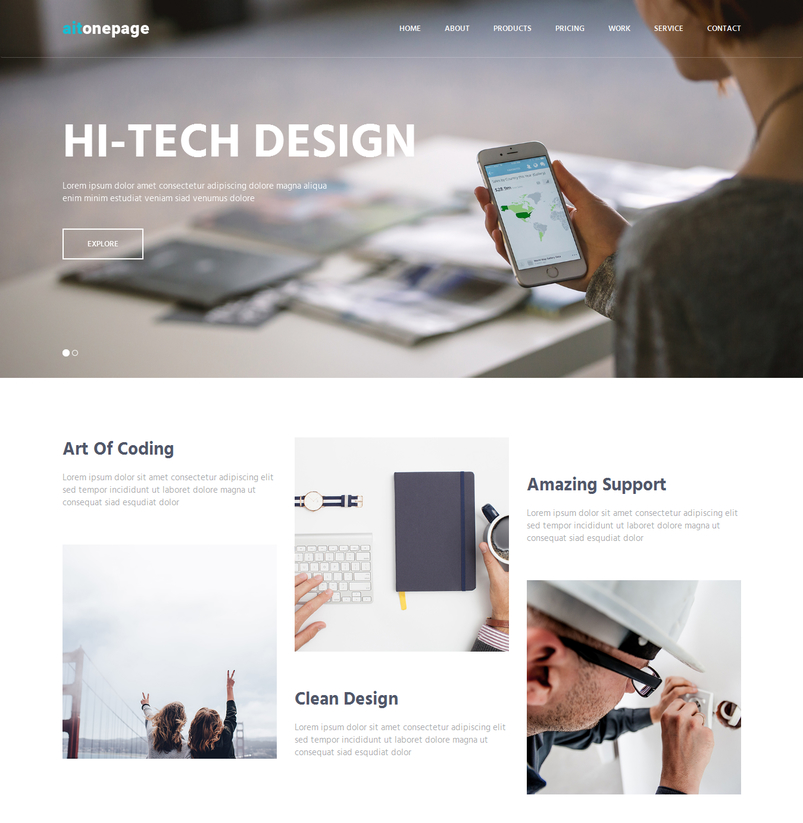 aitonepage-responsive-parallax-one-page-bootstrap-theme-2
