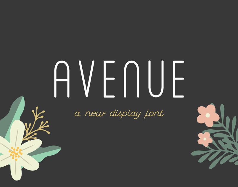 avenue-display-font-2