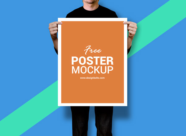 40 Best Poster Mockup Templates To Display Design