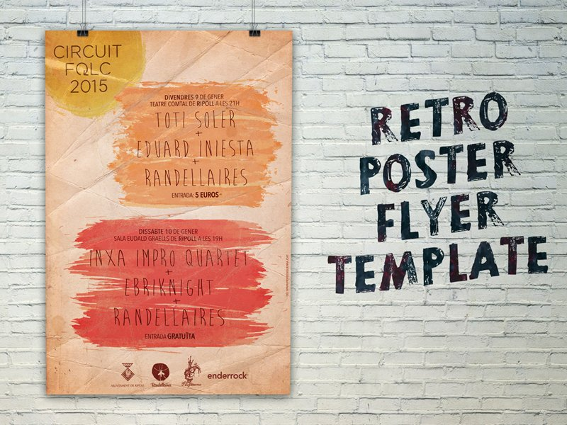 free-retro-poster-flyer-template-2