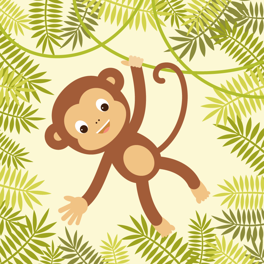 how-to-create-a-hanging-monkey-illustration-in-adobe-illustrator