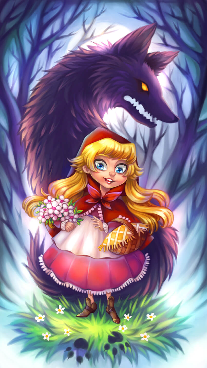 how-to-create-little-red-riding-hood-inspired-fairytale-illustration