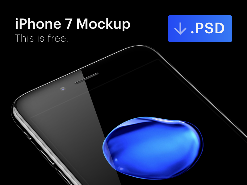 iphone-7-jet-black-free-mockup-psd
