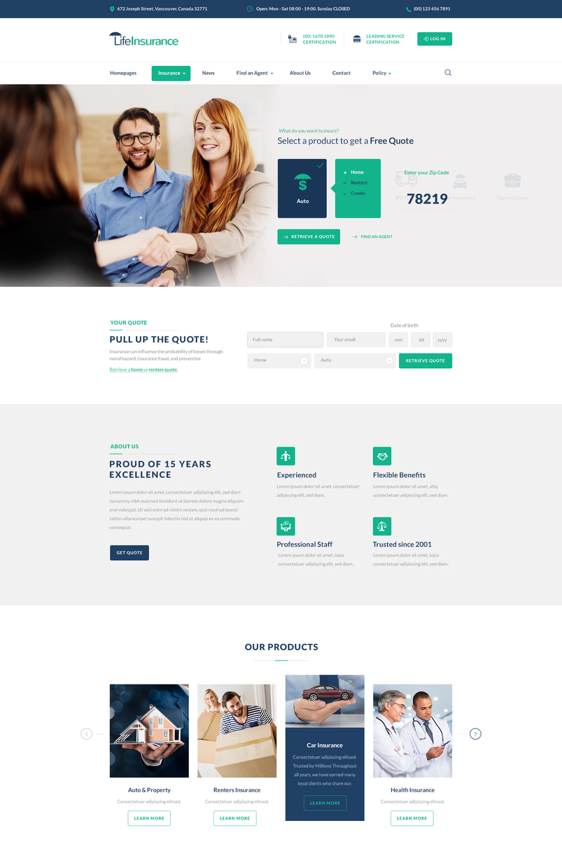 lifeinsurance-an-insurance-taxes-finance-consulting-service-psd-template-2