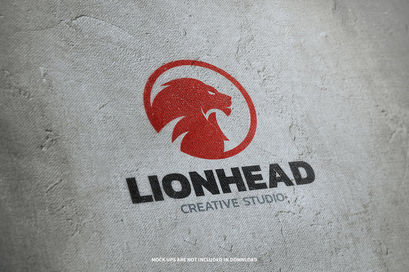 lion-head-logo-template-2