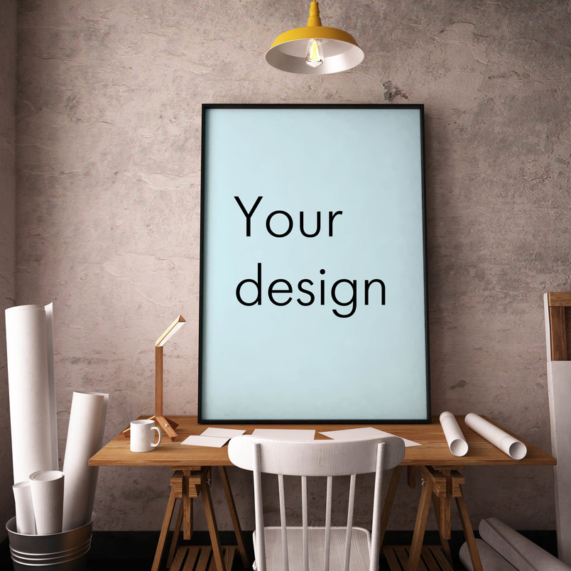 Best poster mockup templates to display design