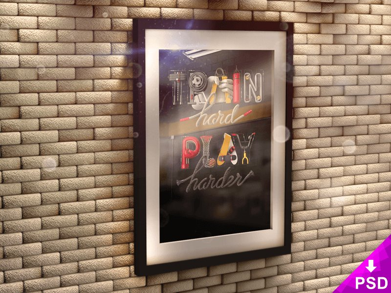 poster-in-3d-frame-on-brick-wall-mock-up-2