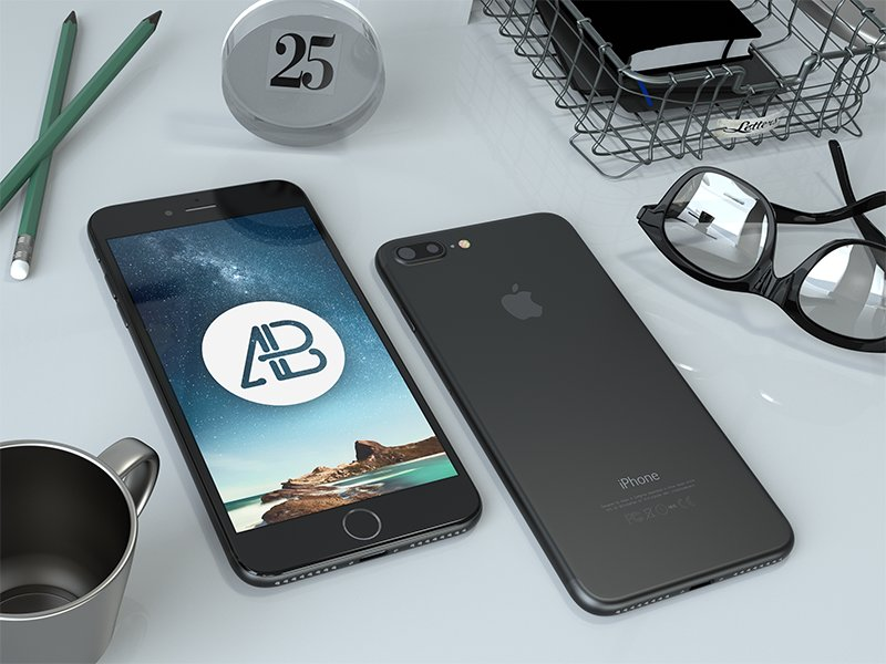 realistic-black-iphone-7-plus-mockup-2
