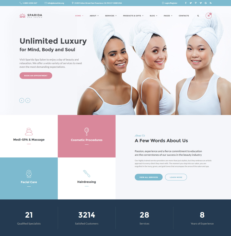 sparida-beauty-responsive-website-template-2
