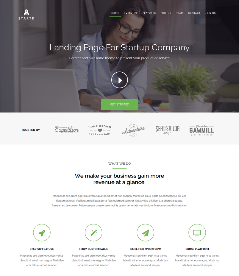 startr-free-startup-landing-page-template-2